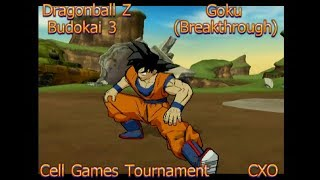 Dragonball Z Budokai 3 - Goku (Breakthrough) {Cell Games Tournament}