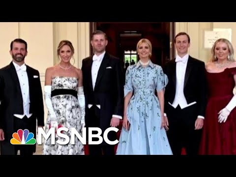 Why Did President Donald Trump Bring His Children To Europe? | Hardball | MSNBC