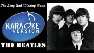 Lagu Karaoke The Beatles - The Long and winding road