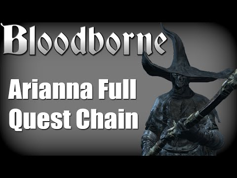 Bloodborne - Arianna Umbilical Cord Quest (Childhood's Beginning Trophy Guide)