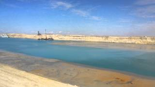 drilling and dredging the new Suez Canal on the Sharm el-Sheikh conference economic