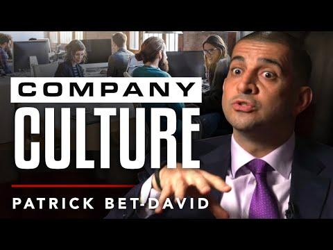 HOW I DESIGNED MY COMPANY CULTURE - Patrick Bet David | London Real