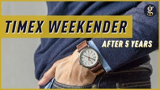 TIMEX WEEKENDER REVIEW (38mm) | The Best Affordable Watch? | T2N651 Olive Strap