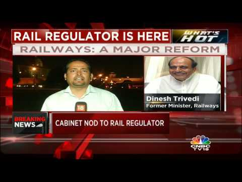 Cabinet gives its nod to a Rail Regulator.