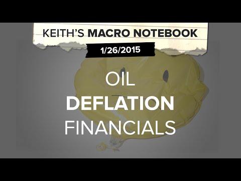 Keith's Macro Notebook 1/26: Oil | #Deflation | Financials