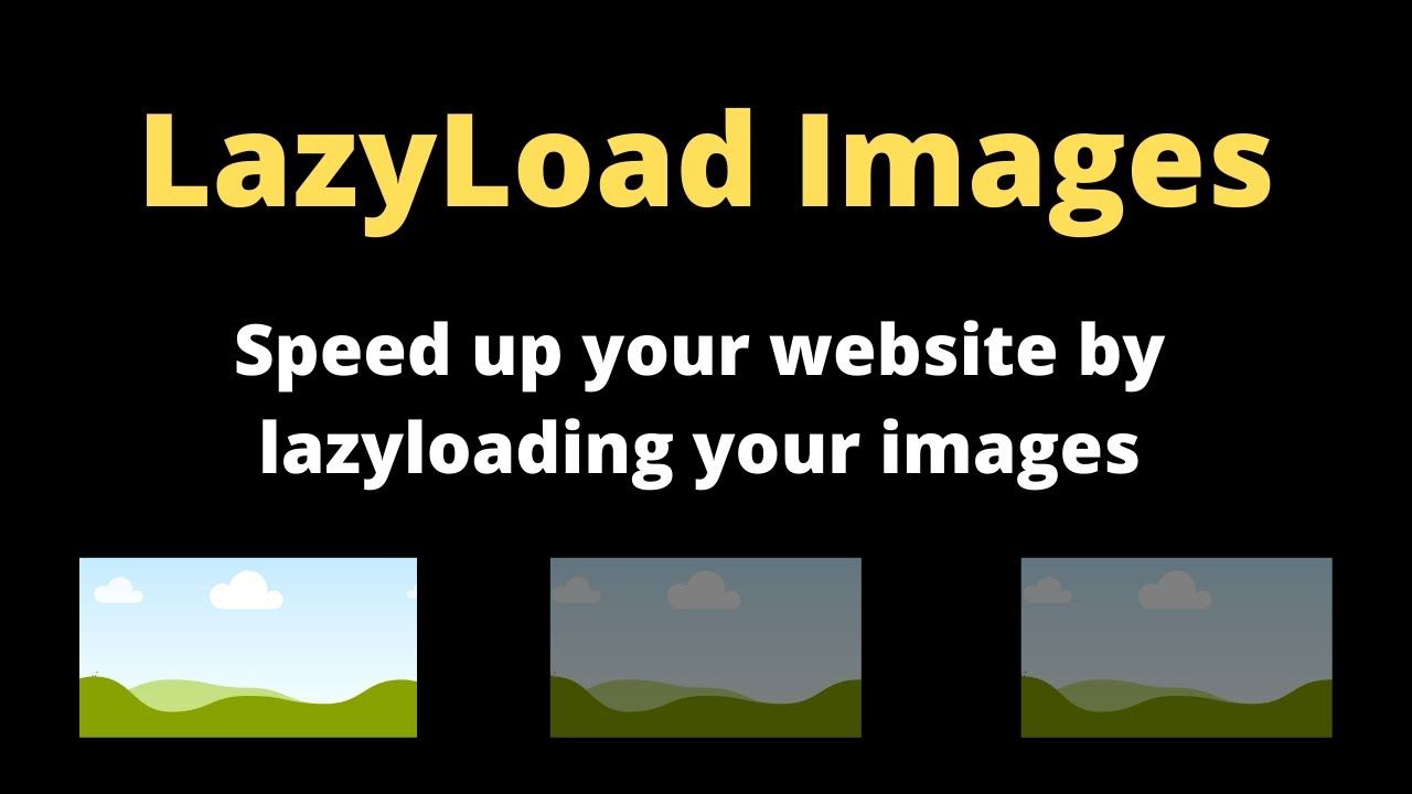 Easy Way to Lazy Load Images using HTML Only | Native Lazy Loading