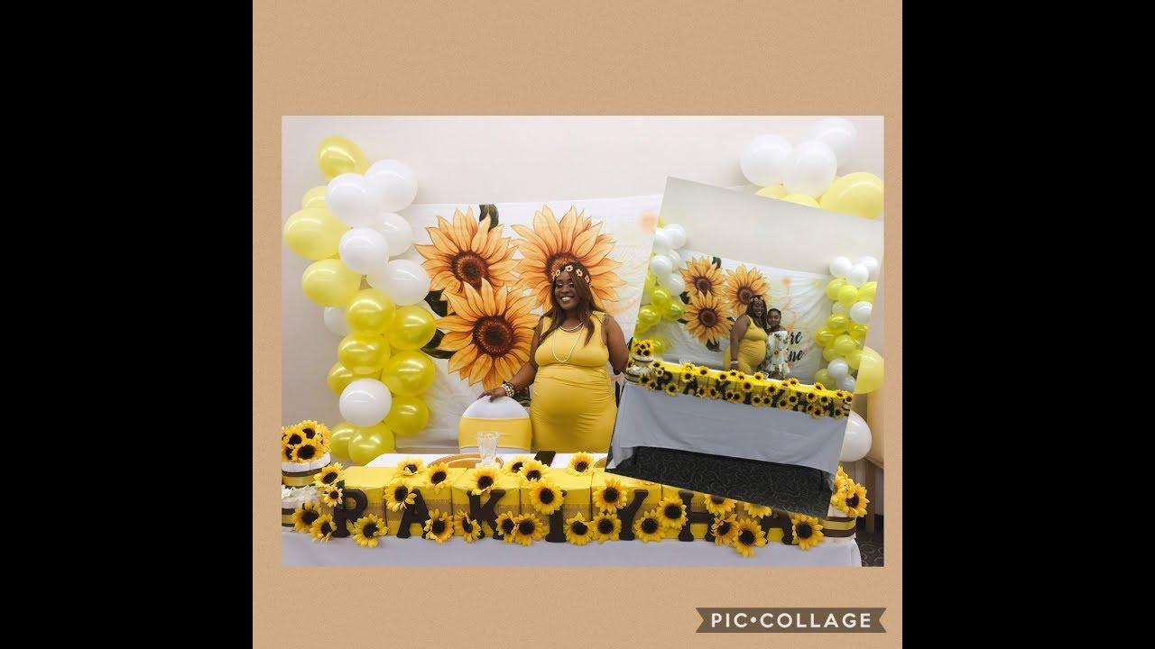 368e4deb46ac5 I Helped Throw My Friend A Baby Shower Vlog   Sunflower Theme