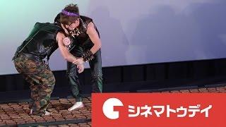 藤森慎吾(オリエンタルラジオ)と宮川大輔が24日、都内で行われた映画...
