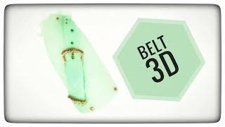 💅💅 Summer Nails 💅💅 :: Belt 3D :: Nailart by Natalia