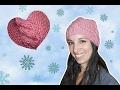 Magnifique bonnet femme tricoté (avec torsade ) [ tuto tricot ]