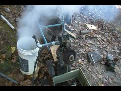 Most Efficient Home Made Steam Engine