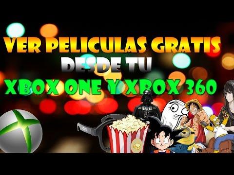 Como ver Peliculas gratis online desde tu XBOX ONE y 360 facil!