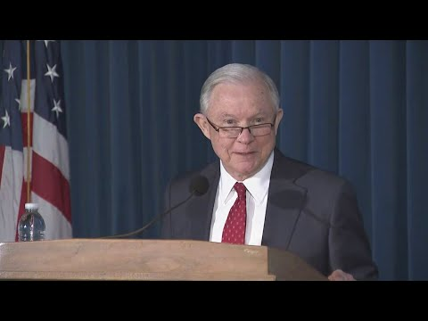 Attorney General Jeff Sessions Talks National Security