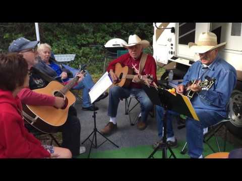 Jamming - Darrington Bluegrass Festival 2016