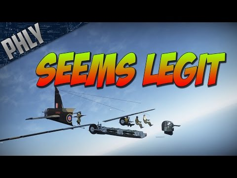 War Thunder - BEEF WELLINGTON - Most Legit Bomber In War Thunder