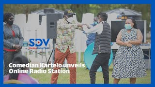 Comedian Kartelo meets Dp Ruto unveils online radio station