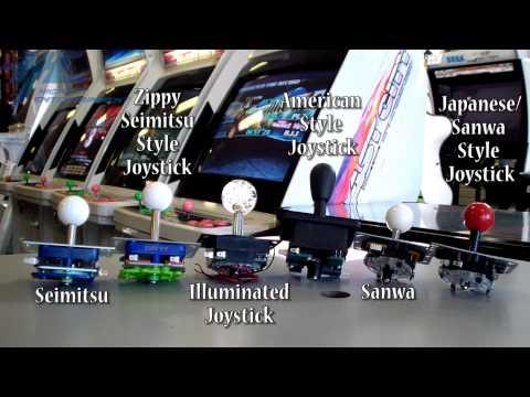 Customise Arcade Joysticks - Sanwa Vs Seimitsu Vs Generic Brands