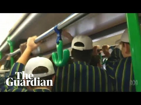 St Kevin's College apologises over students' sexist chant on Melbourne tram