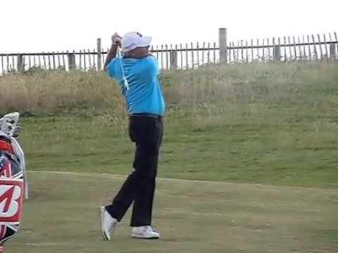 fred-couples-golf-swing-(short-iron),-july-2014---royal-porthcawl.