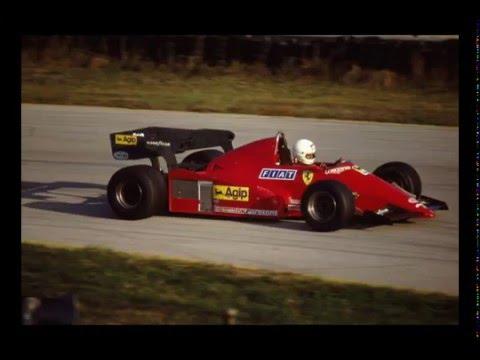 ferrari f1 126 c3 misano test 1983 - youtube