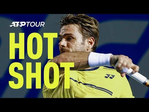 Hot Shot: Wawrinka Paints The Line With Brilliant Defence Acapulco 2019