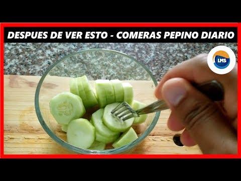 LOS INCREIBLES BENEFICIOS DE COMER PEPINO - 10 BENEFICIOS DEL PEPINO
