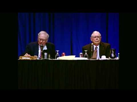 Charlie Munger - 'There is a lot of ridiculous credit in the housing field' (2006)
