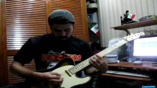 Until you suffer some (Fire and ice) - Poison guitar Husky
