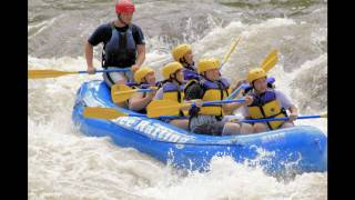 "Raft with ""Ocoee Rafting""  on the Ocoee River in Tennessee"