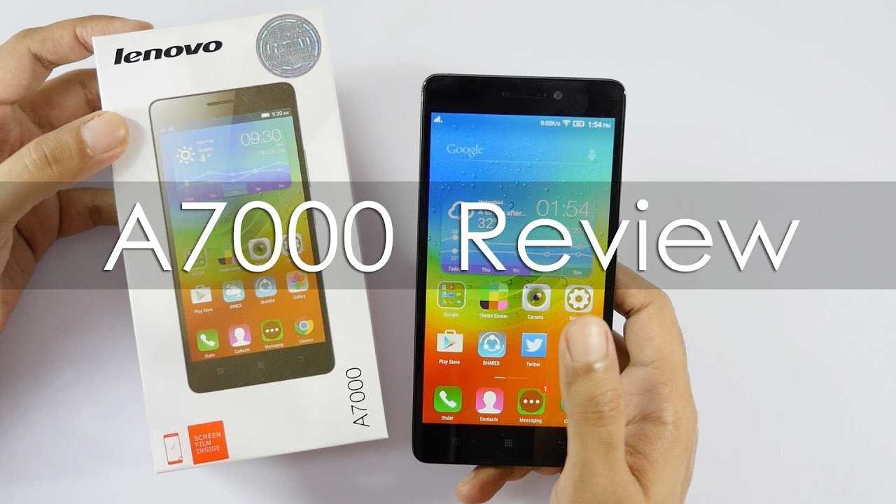 Phone Lenovo Phone Android lenovo a7000 budget 4g android phone review youtube