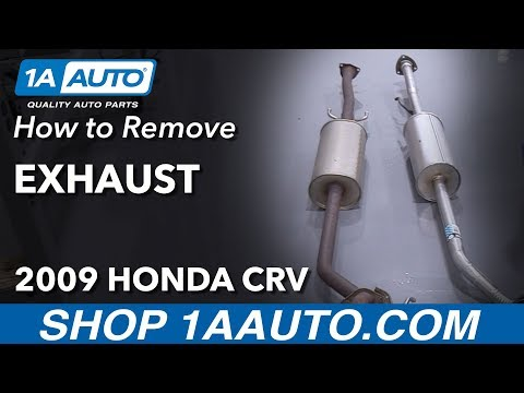 How to Replace Exhaust 07-11 Honda CRV