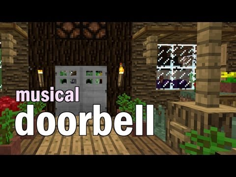 Minecraft Musical Doorbell Tutorial