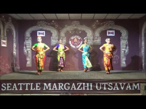 SMU15-13 Seattle Margazhi Utsavam 2015 - Day 13 : Alapadma Dance School