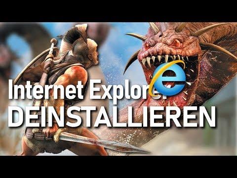Windows 10: Internet Explorer deinstallieren / entfernen