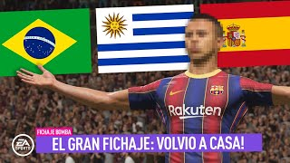 El FICHAJE SORPRESA! VOLVIO A CASA ... | MODO CARRERA FIFA 21