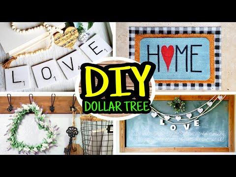 Dollar Tree DIY Room Decor | DIY Farmhouse Decor