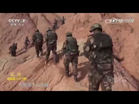 Chinese police crackdown terrorists in Xinjiang, heavy gunfire seen