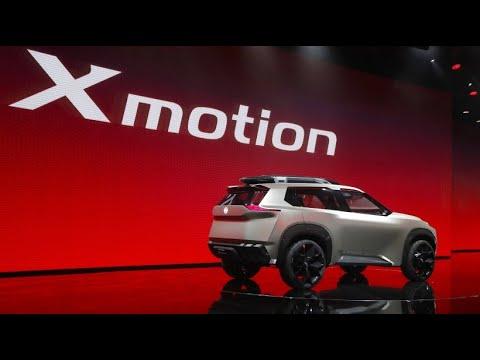 Futuristische Designs bei Automesse in Detroit