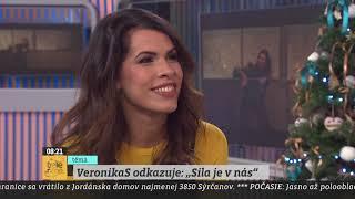 """TELERÁNO - Veronika Strapková odkazuje: """"Sila je v nás"""""""