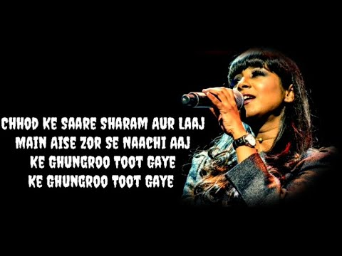 (Lyrics)-Ghungroo-| Arijit Singh & Shilpa Rao | War |-Latest Song 2019