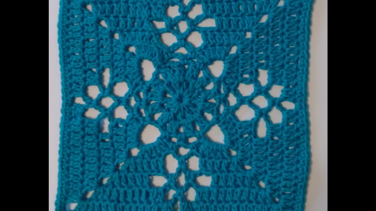 Victorian Lattice Square Crochet Tutorial Cal Crochet Along Youtube