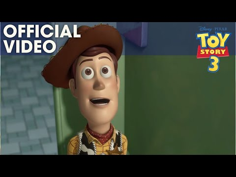 TOY STORY 3 | Bathroom Escape Clip | Official Disney Pixar UK Mp3