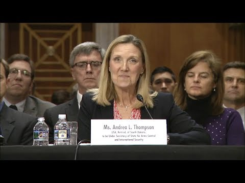 South Dakotan Andrea Thompson Delivers  Statement in Foreign Relations Committee Hearing