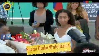 Flash Vizit La Fini: Naomi Osaka Malad Haiti Li Ap Retounen Etazini Avan Lè Ak Yon Fièv Et Grip