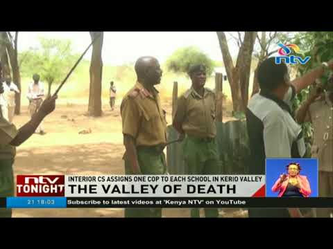Over 40 people have been killed in Kerio Valley attacks