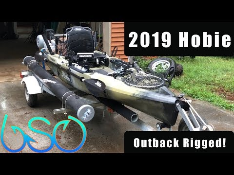 2019 Camo Hobie Outback Rigged (Tournament/All Day Fishing Trip)