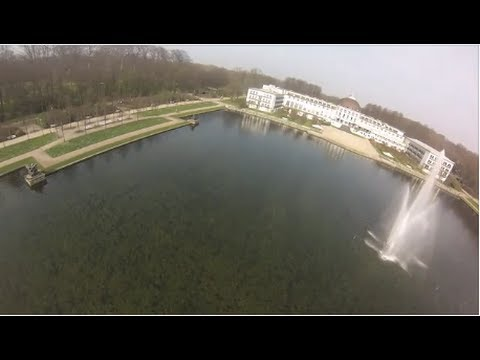 DJI Phantom Flight with GoPro at Bürgerpark in BecksTown