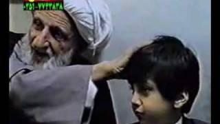 الشيخ بهجت مع حافظ القرآن الطباطبائي