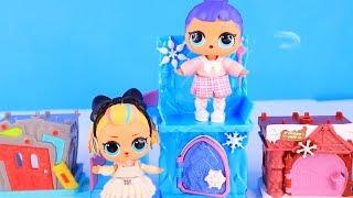 Куклы Лол Мультик! Герои мультиков за каждой дверью для Lol Surprise Doll! Disney Doorables Toys