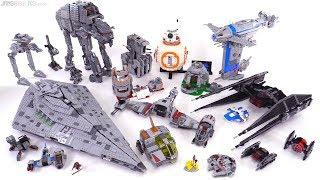All LEGO Star Wars The Last Jedi sets: A Retrospective [SPOILERS!]